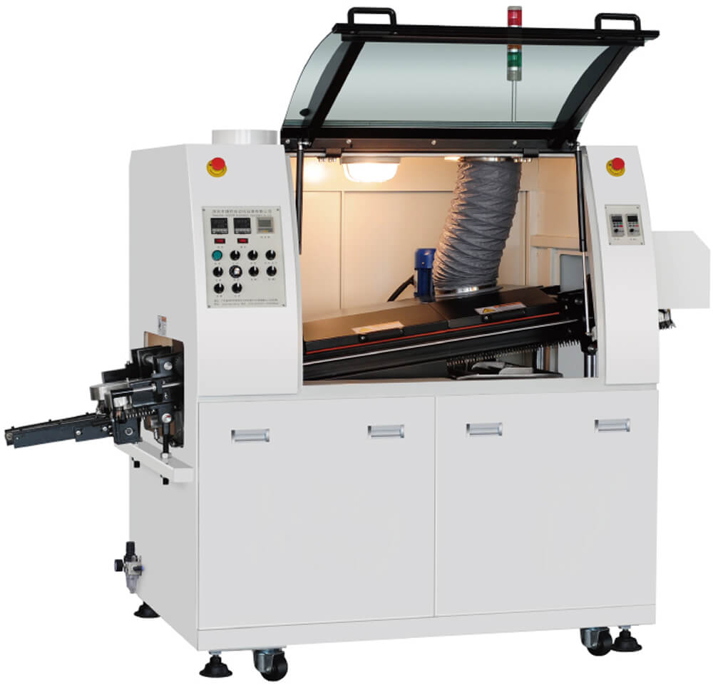 THT SMD-N250 Ecomical lead free wave solder machine