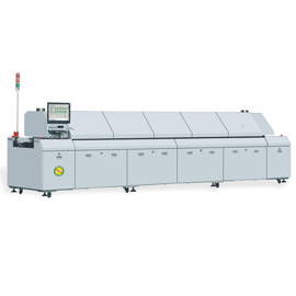 10 zones Chinese smt lead free reflow oven
