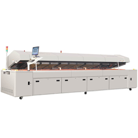 R8 3200mm heating length smd reflow oven soldering machine