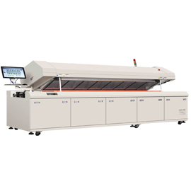 SMD R12 Full hot air SMT lead free reflow oven machine